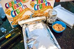 How To: Mylar bag cereal (or anything else) for long term food storage