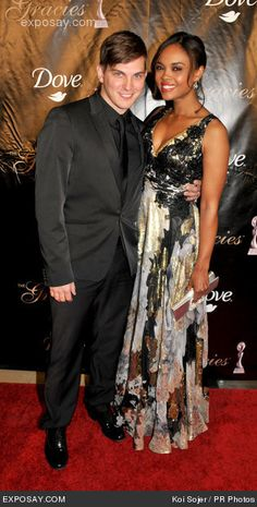 www.black-idols.com - Blacks celebrities website  |Sharon Leal And Grayson Mccouch