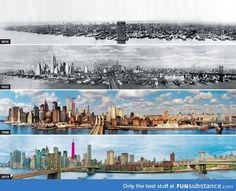 150 Years of NYC Skylines