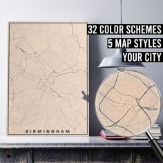 FREE SHIPPING WITHIN EU AND USA  We really love maps. Map prints, map posters, map illustrations. Our map designs consist 32 color schemes and 5 styles to choose from. Maps are very detailed and fully customizable if needed.    #mapprint #mapart #citymap #citymapprint #citymapposter #mapwallart #mapposter Map Posters, City Map Poster, Map Wall Art, Map Art, Map Illustrations, Simple Poster, Custom Map, Us Map