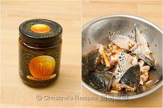 XO醬蒸三文魚頭【惹味又簡單】 Steamed Salmon Head with XO Sauce from 簡易食譜