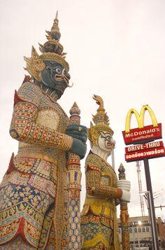 International signage from Bangkok, Thailand