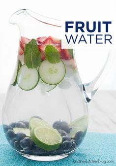 Fruit Water is a delicious way to jazz up your ordinary water pitcher at your next backyard summer party. Serve this tasty beverage in Hefty® Ultimate™ Easy Grip® Cups for easy cleanup!