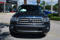 2014 Toyota Sequoia Platinum 4x4 Platinum 4dr SUV FFV SUV 4 Doors Gray for sale in Sanford, FL Source: http://www.usedcarsgroup.com/used-toyota-for-sale-in-sanford-fl