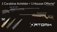 Promo spéciale en Boutique.  1 carabine achetée = 1 fourreau valken Offert  (à partir de 139 € d'achat)