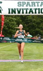 Redshirt junior Leah O'Connor and redshirt sophomore Caleb Rhynard of the Michigan State cross country team have both been named Big Ten Cross Country Athletes of the Week, as announced by the conference office on Tuesday. Both individuals finished tops for the Spartans this past weekend as MSU hosted the Auto-Owners Insurance Spartan Invitational.