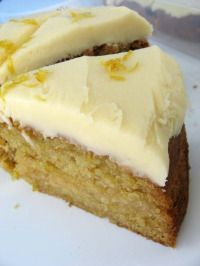 Lemon Cake - Vegan and gluten free - how about that :-)