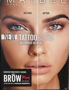 New Adriana Lima for Maybelline Brazilian Supermodel, Brow Gel, Adriana Lima, Tattoo Studio, New Tattoos, Maybelline, Supermodels, Brows, How To Plan
