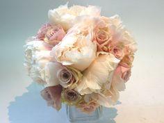soft blush bridal bouquet