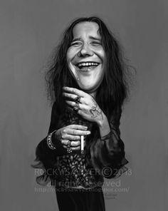 Rocky J Sawye - Janis Joplin