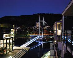 architecture norway | Ypsilon bridge, Drammen