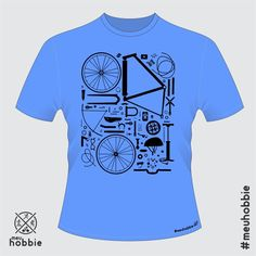 Camiseta bike peças fixed gear #meuhobbie fixero
