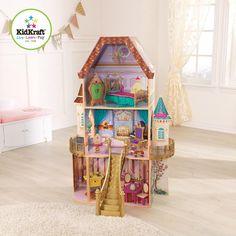 Amazon.com: KidKraft Belle Enchanted Dollhouse: Toys & Games