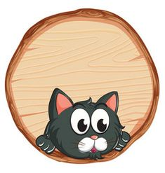 Blank Sign, Sign Templates, Grey Cats, Vector Free, Decorative Plates, Lunch Box, Royalty, Royals, Gray Cats