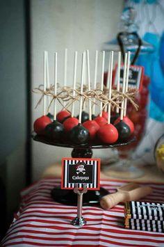 Pirate Cakepops