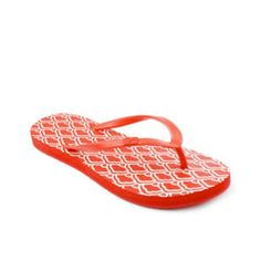 Diane von Furstenberg's red cloud-print flip-flops will be the perfect companion for your summer laid-back looks. Now Price: 33 €