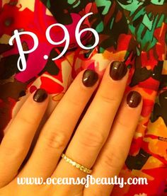 P.96 EZdip Gel Powder. DIY EZ Dip. No lamps needed, lasts 2-3 weeks! Salon Quality done right in your own home! For updates, customer pics, contests and much more please like us on Facebook https://www.facebook.com/EZ-DIP-NAILS-1523939111191370/ #ezdip #ezdipnails #diynails #naildesign #dippowder #gelnails #nailpolish #mani #manicure #dippowdernails