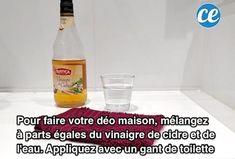 Plus Besoin d'Acheter de Déo Narta ! Utilisez du Vinaigre de Cidre à la Place.