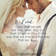 Perfect prayer to pray throughout the whole relationship