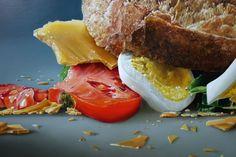 Tjalf Sparnaay - b.1954 - egg sandwich