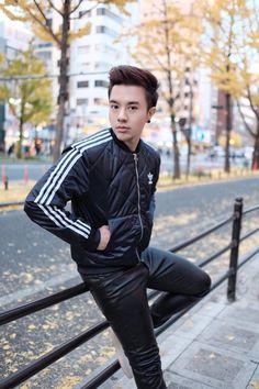 Cool Guy in Japan