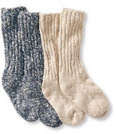 Fuzzy Christmas Slipper Socks