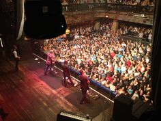 House of Blues (Opera Box View) at Sister Hazel show - Orlando, FL 2012