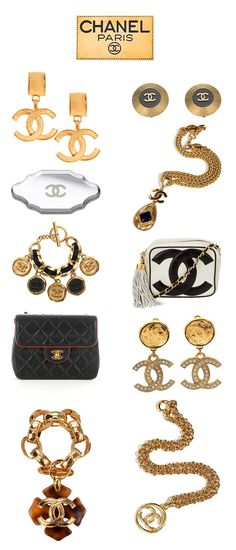 Chanel Accessories (collaged by LoLo H).♥✤