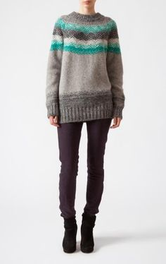 love this sweater! someday I'll know how to make a sweater :)