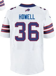 "$78.00--Delano Howell White Elite Jersey - Nike Stitched Buffalo Bills #36 Jersey,Free Shipping! Buy it now:click on the picture, than click on ""visit aliexpress.com"" In the new page."