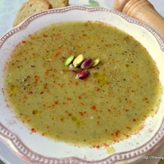 Βελουτέ σούπα λαχανικών-Velvety veggie soup Greek Cooking, Fun Cooking, Healthy Cooking, Healthy Recipes, Greek Recipes, Soup Recipes, Salad Recipes, The Kitchen Food Network, Veggie Soup