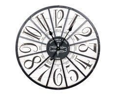 """Nástěnné hodiny """"Erna"""", Ø 60, tl. 6 cm"""
