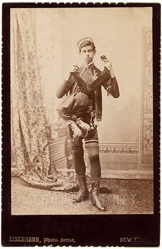 Laloo was a man with a parasitic twin growing from his midsection. He died in a train wreck in Mexico in 1905.