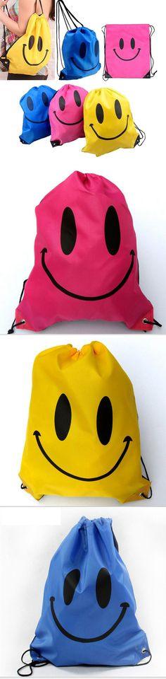 2016 New Face Drawstring Bag Polyester Swimming School Bags For Girls And Boys Cartoon Kids Backpack waterproof Mochila