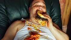 You really are what you eat, according to scientists, who have discovered the gene that determines if you like chicken korma or strawberries and cream. One in 100 people have a defect in the g… Binge Eating, Eat Fat, People Eating, What You Eat, Hamburgers, Strawberries And Cream, Bad Habits, Junk Food, Cool Things To Make