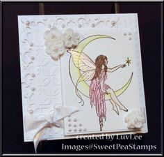 Sweet Pea Stamps....my tattoo is very similar to this stamp so I just had to have it!