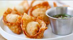 Ces petits won ton ou dumplings au porc et aux crevettes sont vraiment succulents, se sont effectivement les meilleurs que j'ai eu la chance de manger dans ma vie. Tendres à l'intérieur et croustillants à l'extérieur, ils se mangeront en un rien de t