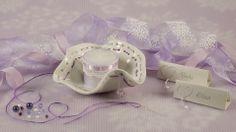 Porta oggetti/porta candela in ceramica