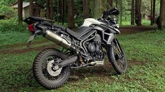 Triumph Tiger 800 XCx review - Common Tread - RevZilla. Really like the look of this bike but haven't ridden one. I think it's a bit too 'off roady' for me and I'm trying to move away from wire wheels too.