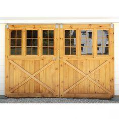 Ideas, Marvelous Exterior Split Sliding Barn Doors Glass In White Barn Design Ideas: Attractive Sliding Barn Doors Design Ideas For Beautify...