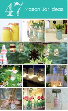 47 Fabulous Mason Jar Ideas