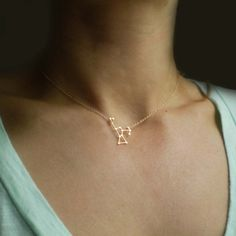 Orion Constellation Necklace -  Delicate 14k Gold Filled