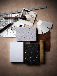 Superficie tridimensionale in materiale composito HI-MACS® - Lucia by HI-MACS®…