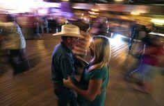 Two-stepping her way across Texas - via the Washington Post