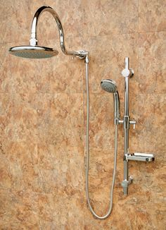 Pulse Shower Spas Aqua Rain Diverter Complete Shower System - 1019-CH | Wayfair