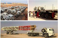 50 unit 6×6 Oilfield Trucks Perform well in Sahara desert area —— 14/02/2017 -News - CTP Oil Field Heavy Truck