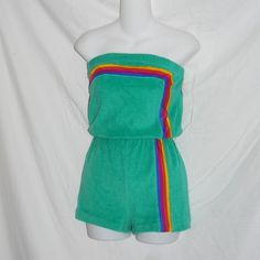 Remember these terry cloth one piece rompers?