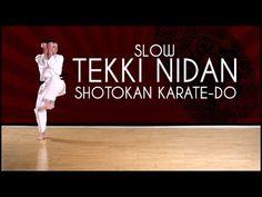 Tekki Nidan (SLOW) - Shotokan Karate kata JKA - YouTube
