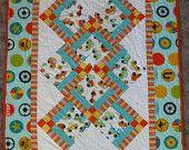 Baby Quilt, ,Cars,Crib Quilt, Floor Quilt, , 41