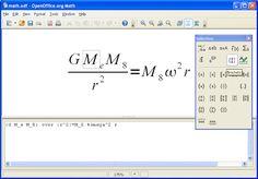 OpenOffice Math 3.0.1 crea equazioni e formule per i tuoi documenti. - Software…